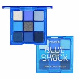 Paleta de Sombras Blue Shock SP Colors